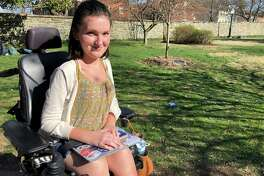 Anna Landre, a sophomore at Georgetown University, is trying to change how people talk and think about disabilities.