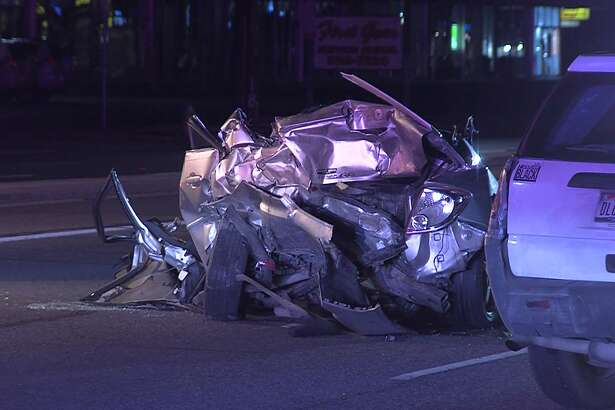 An overnight wreck on the West Side, June 15, 2019, resulted in one death and three critical injuries, according to San Antonio Police.