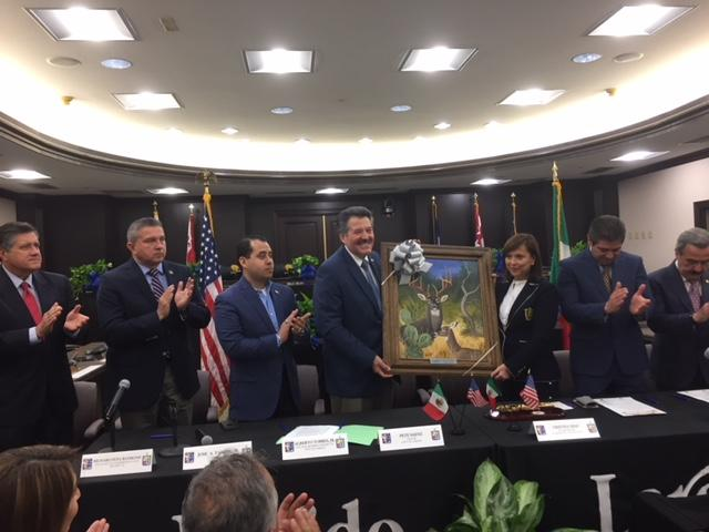 Laredo, Nuevo León officials reaffirm Sister Cities status