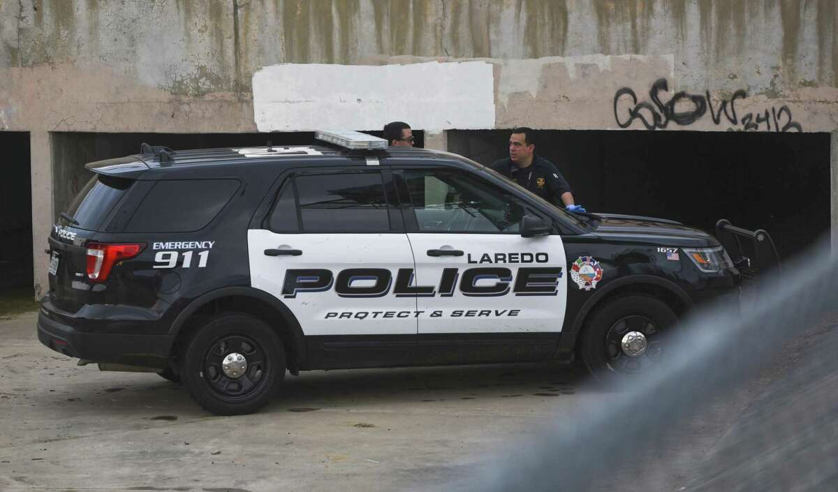 Laredo Police respond to a call of a dead body found under a bridge on the 4500 block of McPherson Avenue, Tuesday, Jun 11, 2019.