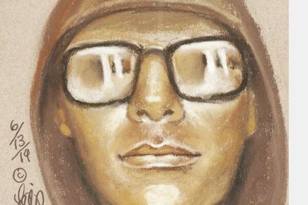 The FBI released this sketch composite in the Garda armored truck robbery at Willowbrook Mall in Houston