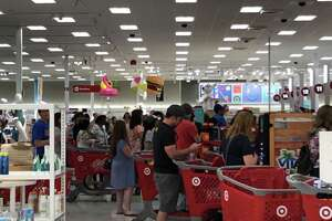 """A """"systems issue"""" prevented customers from checking out at Target stores nationwide."""