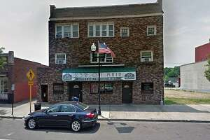 Police investigated a shooting in the area of 232 Main St. in Ansonia, Conn., in the early morning hours of June 15, 2019.