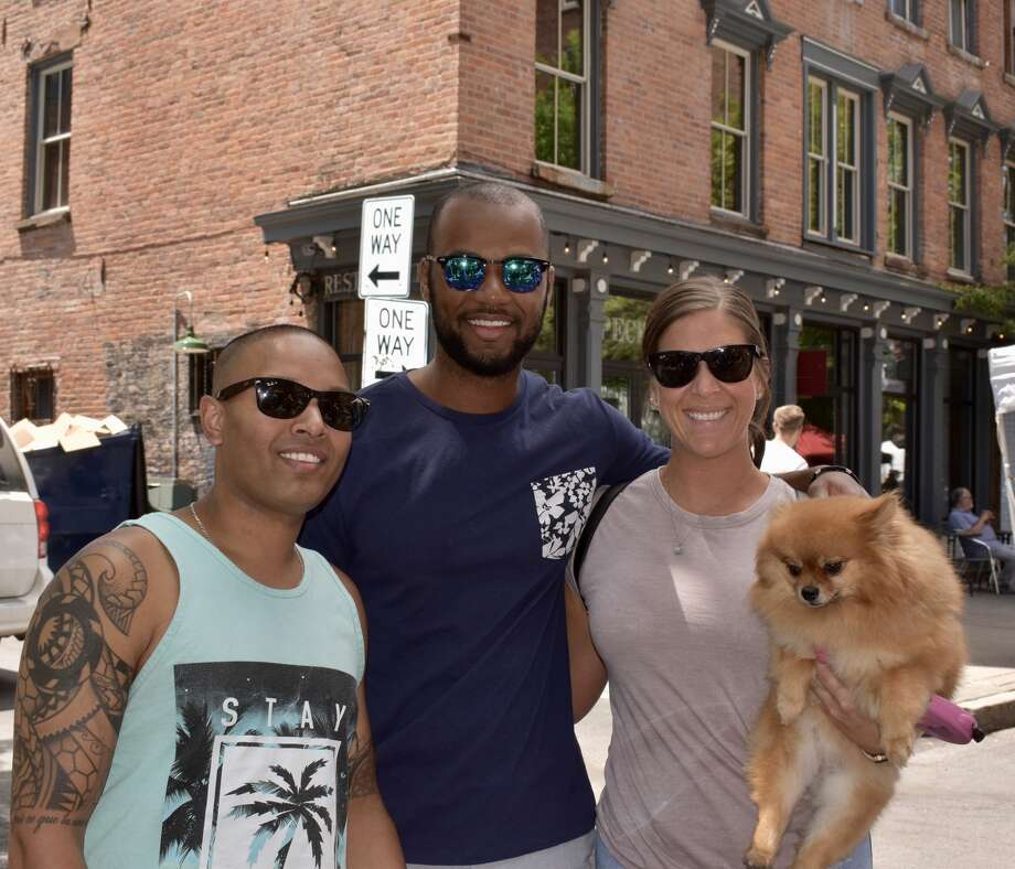 Were you Seen in downtown Troy for the annual River Fest on June 15, 2019? Photo: Silvia Meder Lilly