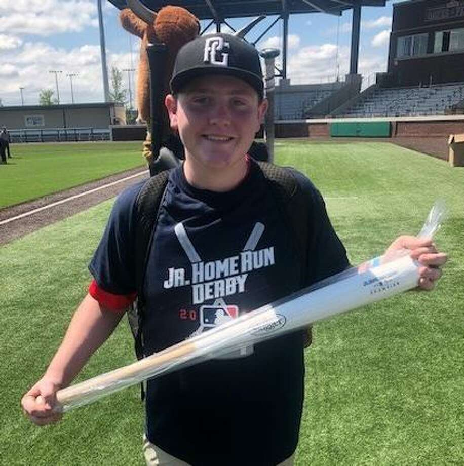 Karsen Luther of Conroe is headed to Cleveland next month for the MLB Jr. Home Run Derby. Photo: Photo Submitted