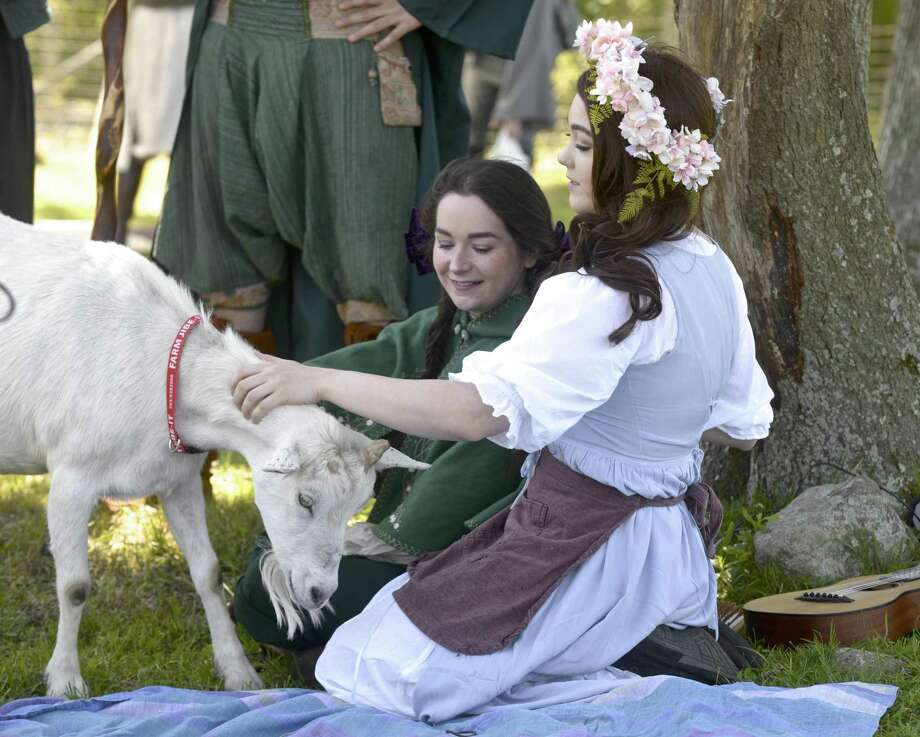 Sold-out crowd attends goat role-playing event in Redding