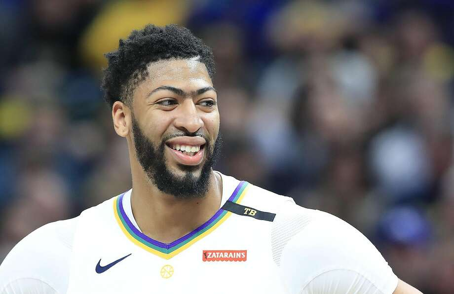 FILE - JUNE 15: The Los Angeles Lakers have traded Lonzo Ball, Brandon Ingram, Josh Hart and three first-round picks to the New Orleans Pelicans for star Anthony Davis on June 15, 2019. INDIANAPOLIS, INDIANA - FEBRUARY 22:   Anthony Davis #23 of the New Orleans Pelicans watches the action against the Indiana Pacers at Bankers Life Fieldhouse on February 22, 2019 in Indianapolis, Indiana. (Photo by Andy Lyons/Getty Images) Photo: Andy Lyons, Getty Images