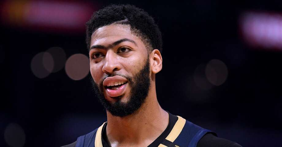 FILE - JUNE 15: The Los Angeles Lakers have traded Lonzo Ball, Brandon Ingram, Josh Hart and three first-round picks to the New Orleans Pelicans for star Anthony Davis on June 15, 2019. LOS ANGELES, CALIFORNIA - JANUARY 14:  Anthony Davis #23 of the New Orleans Pelicans smiles during a 121-117 win over the LA Clippers  at Staples Center on January 14, 2019 in Los Angeles, California. (Photo by Harry How/Getty Images) Photo: Harry How/Getty Images