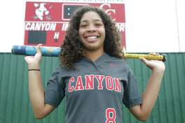 New Braunfels Canyon's Aliyah Pritchett, the 2018-19 E-N Female Athlete of the Year, will play softball for Baylor.