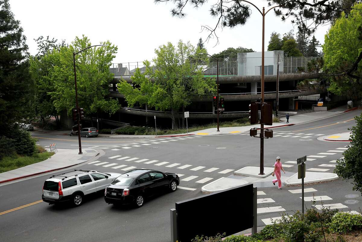 The Upper Hearst Parking Structure at the University of California, Berkeley, at Hearst Ave. and La Loma Ave., in Berkeley, Calif., on Saturday, May 12, 2019. UC Berkeley has a housing proposal that would replace the parking garage at Hearst Ave. and La Loma Ave.