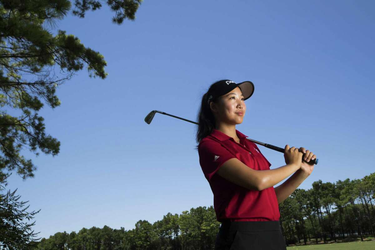 Christine Wang helped lead St. John's to its third consecutive SPC team championship this season while collecting her third straight individual title.