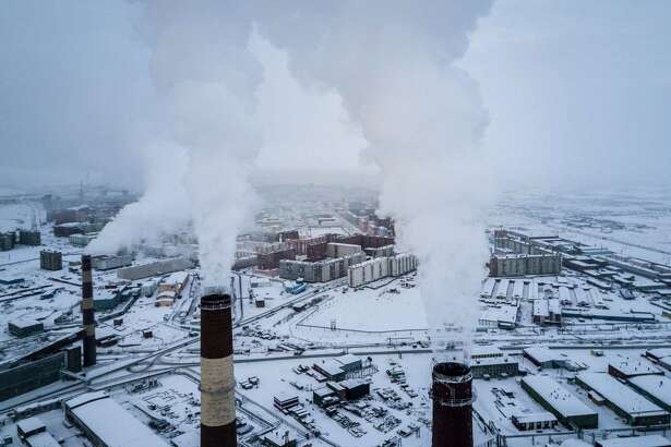 FILE - A power plant in Norilsk, Russia, Nov. 7, 2017. The United States is stepping up digital incursions into Russia's electric power grid in a warning to President Vladimir Putin and a demonstration of how the Trump administration is using new authorities to deploy cybertools more aggressively, current and former government officials said. (Sergey Ponomarev/The New York Times)
