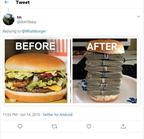 Midwest company debuts new T-shirt 'now that Whataburger