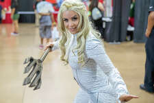 Comic book fans expressed their love for the art at Celebrity Fan Fest on Saturday, June 15, at the Freeman Expo Halls.