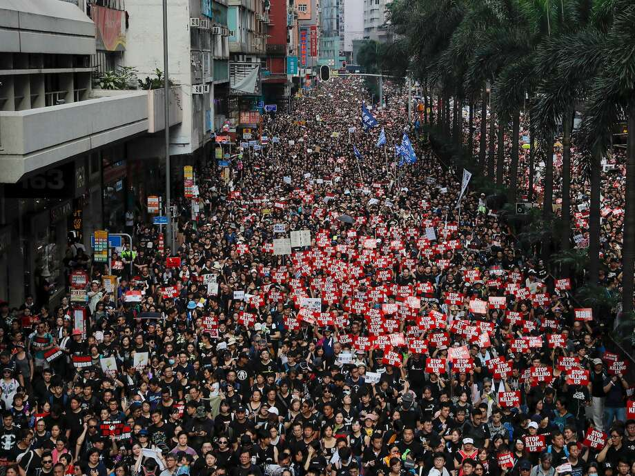 After drawing fierce backlash and some of the largest protests in Hong Kong's history, extradition plans between the territory and China have been put on ice and chief executive Carrie Lam has issued a mea culpa as leaders try to quell a growing political crisis. Photo: Kin Cheung/AP