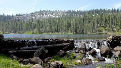 Roads into California's 19 national forests are clearing of snow and providing access to about 200 lakes, such as Gumboot Lake here last weekend in the Trinity-Divide, with access for camping, hand-launched boats and hiking