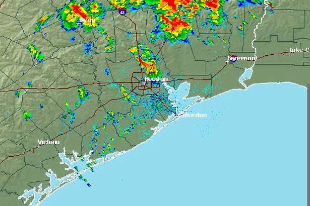 The National Weather Service has issued a significant weather advisory for the Houston area. Frequent lightning strikes are occurring with the thunderstor
