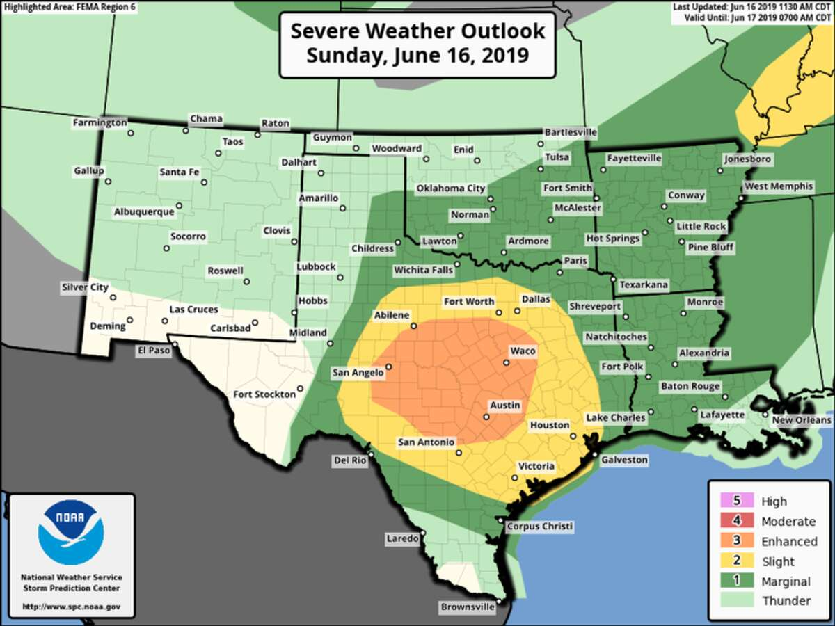 There is a Slight to Enhanced risk of strong to severe thunderstorm development this afternoon and into the evening. This development will be dependent upon on the timing and movement of boundaries and activity to our north. Stay weather aware today and make sure you are prepared to take action if a Severe Thunderstorm Warning is issued for your area.