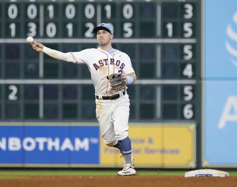 Astros' Alex Bregman leads AL third baseman in All-Star voting