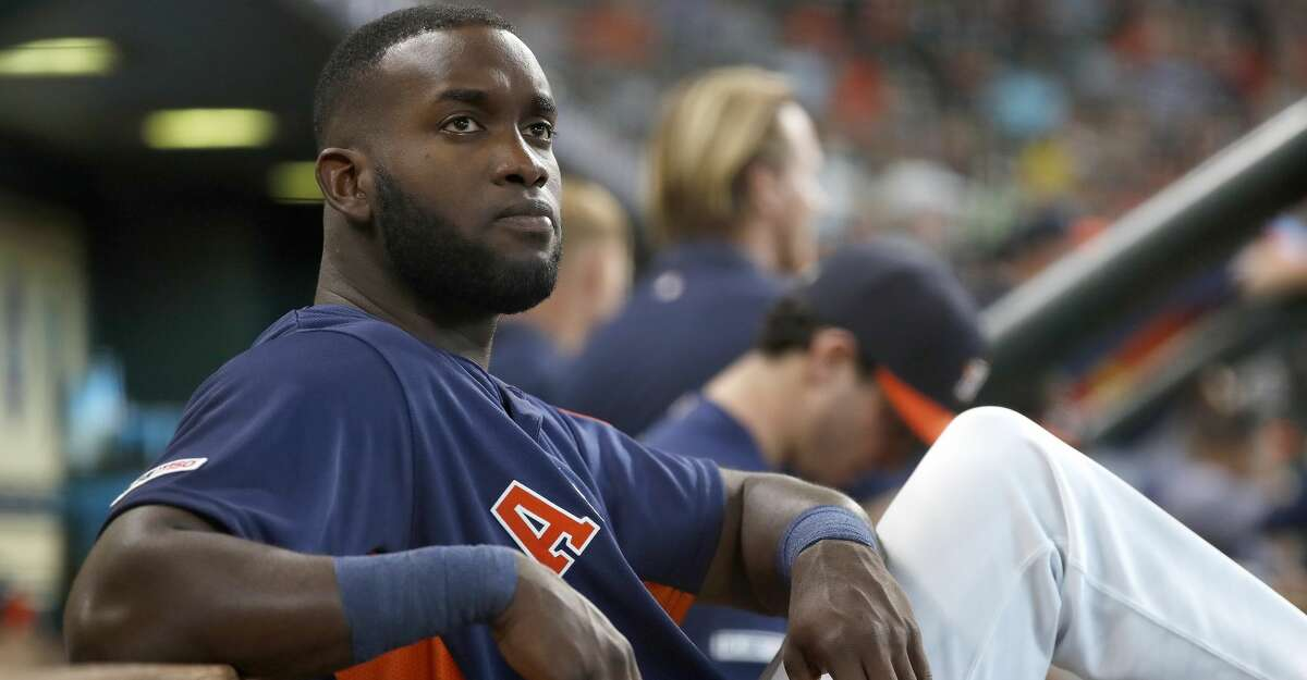 PHOTOS: Astros game-by-game Houston Astros designated hitter Yordan Alvarez (44) sits in the dugout during the third inning of an MLB game at Minute Maid Park, Sunday, June 9, 2019, in Houston. Browse through the photos to see how the Astros have fared in each game this season.