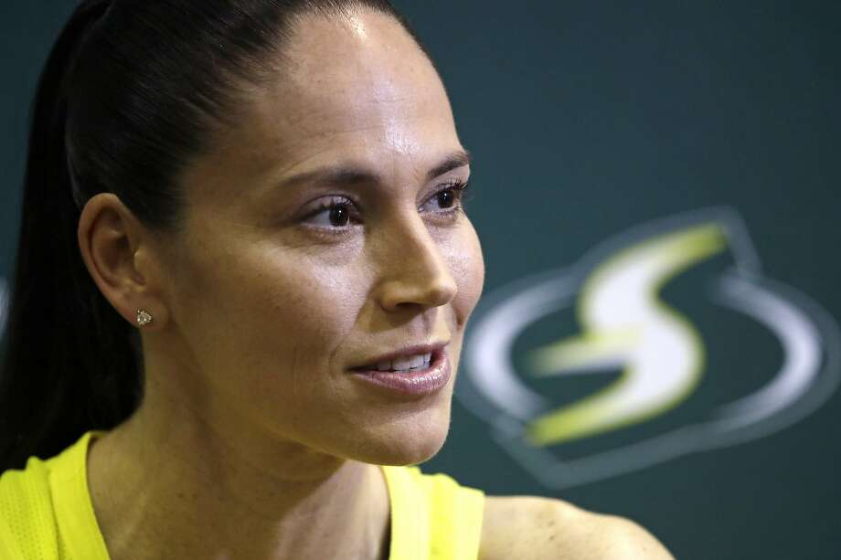 Point guard Sue Bird and the Seattle Storm open up the year July 25 with a highly-anticipated matchup against No. 1 overall pick Sabriana Ionescu and the New York Liberty. The game will be televised nationally on ESPN. Photo: Elaine Thompson / Associated Press