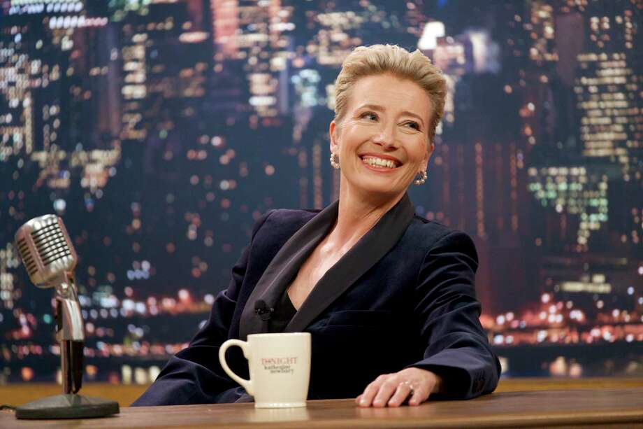 "This image released by Amazon Studios shows Emma Thompson in a scene from ""Late Night."" (Emily Aragones/Amazon Studios via AP) Photo: Emily Aragones / Amazon Studios"