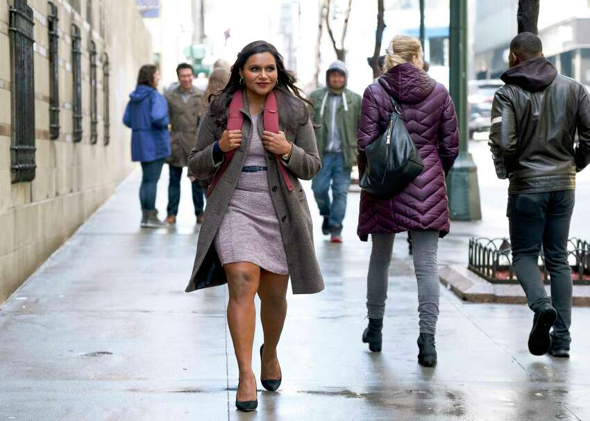 This image released by Amazon Studios shows Mindy Kaling in a scene from