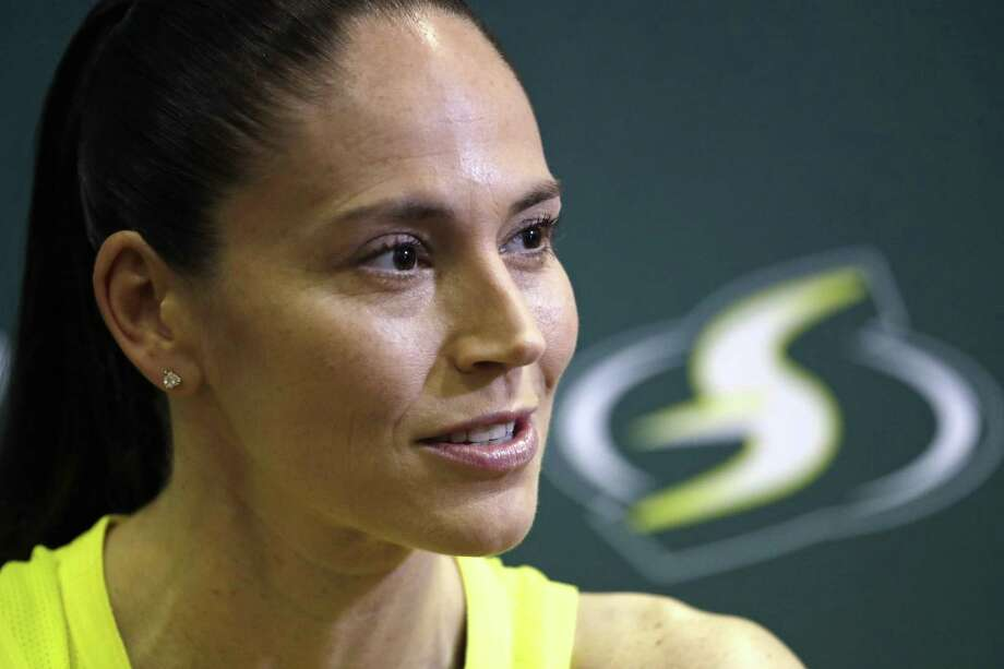 Sue Bird is hoping to return to the court this season after undergoing knee surgery in May. Photo: Associated Press File Photo / Copyright 2019 The Associated Press. All rights reserved