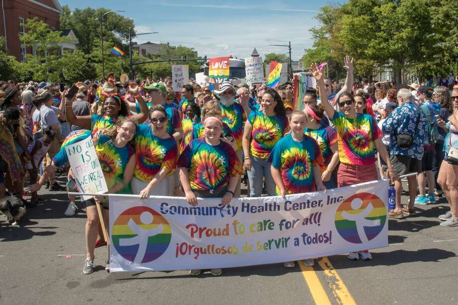 Thousands attend Middletown's Inaugural Pride Festival on Saturday! Photo: Sandy Aldieri, PerceptionsCT