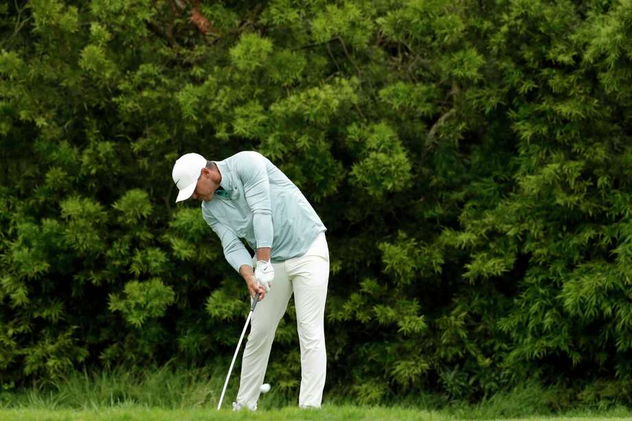 Brooks Koepka watches his tee shot on the 12th hole during the final round of the U.S. Open Championship golf tournament Sunday, June 16, 2019, in Pebble Beach, Calif. Photo: Matt York, AP / Copyright 2019 The Associated Press. All rights reserved.
