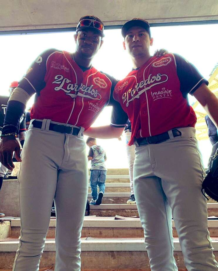 Tecos outfielder Domonic Brown and pitcher Ivan Zavala both played Sunday as the North won 11-5 in the LMB's All-Star game. Photo: Courtesy Of The Tecolotes Dos Laredos