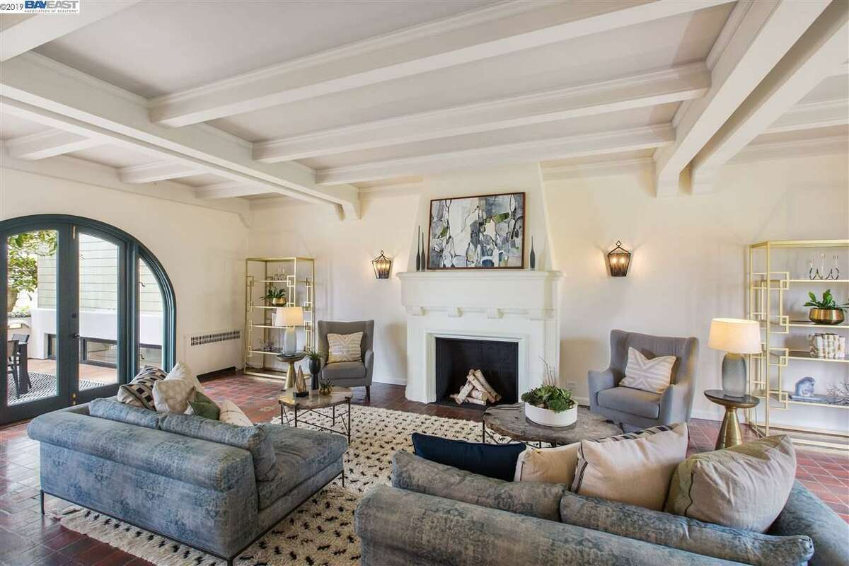 """The real estate listing for San Francisco's 449 Parker Ave. reads, """"This estate, formerly known as The Palace of the Soul, is a magnificent masterpiece that beautifully blends modern finishes, a rich history, and a magical alchemy of energy that is unforgettable."""""""