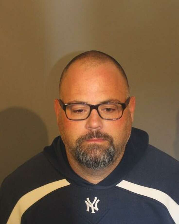 A Danbury High School Safety Advocate has been charged with providing juveniles, including students, with marijuana, police said. Police opened an investigation into Glenn Davis, 41, who works at the school, after receiving a complaint May 8, police said on their Facebook page. Photo: Danbury Police Department