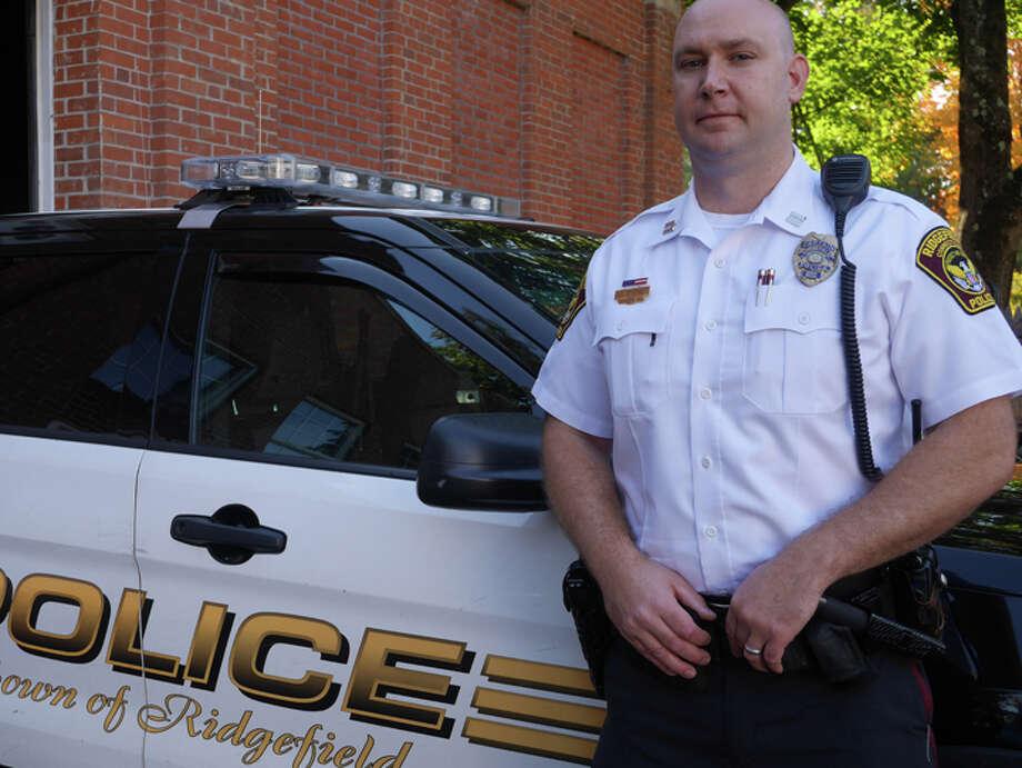 New Ridgefield police chief Jeff Kreitz. — Steve Coulter