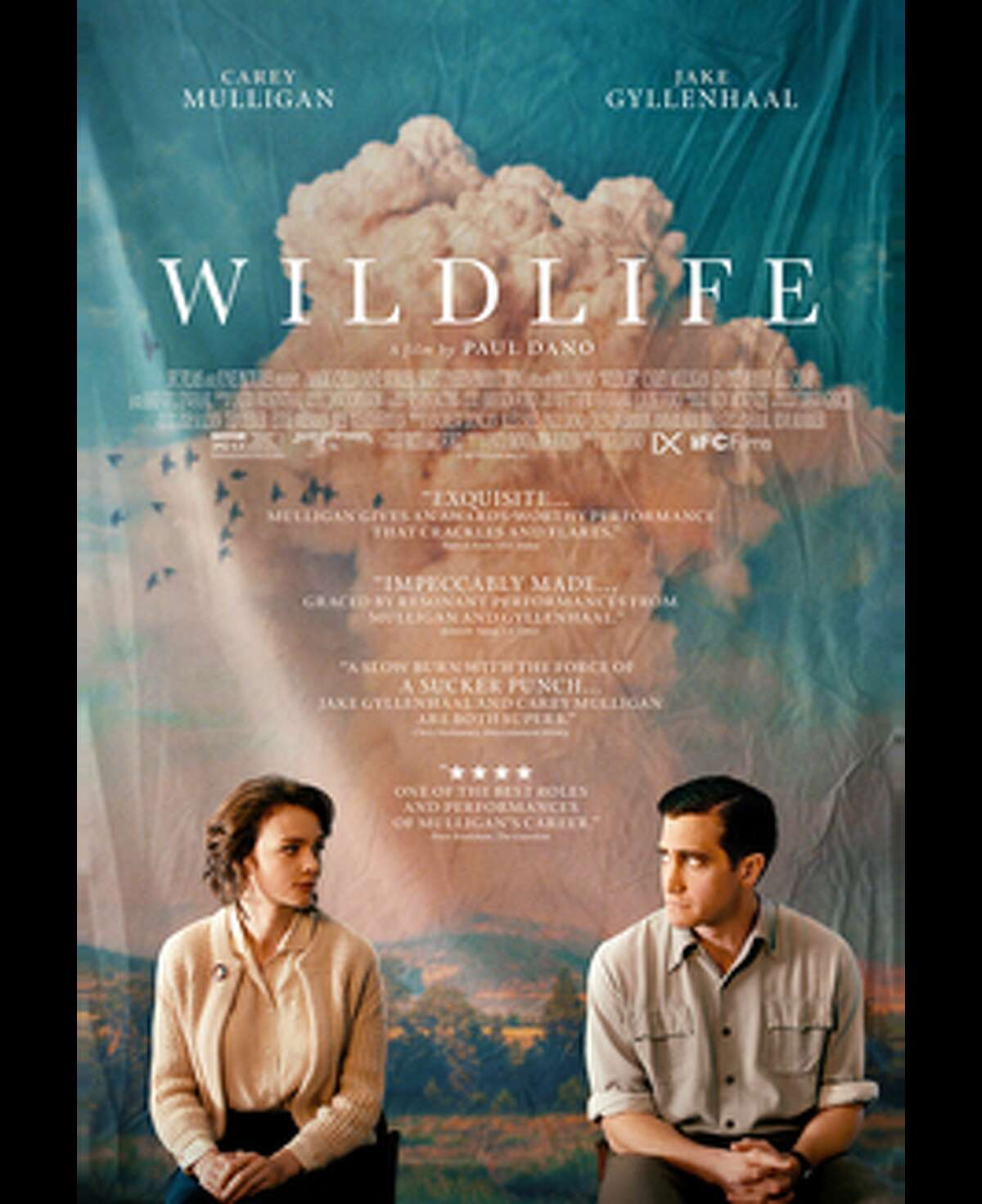 Wildlife, starring Jake Gyllenhaal Carey Mulligan, will kick off the Ridgefield Independent Film Festival Thursday, Oct. 18. Director Paul Dano is a graduate of Wilton High School.
