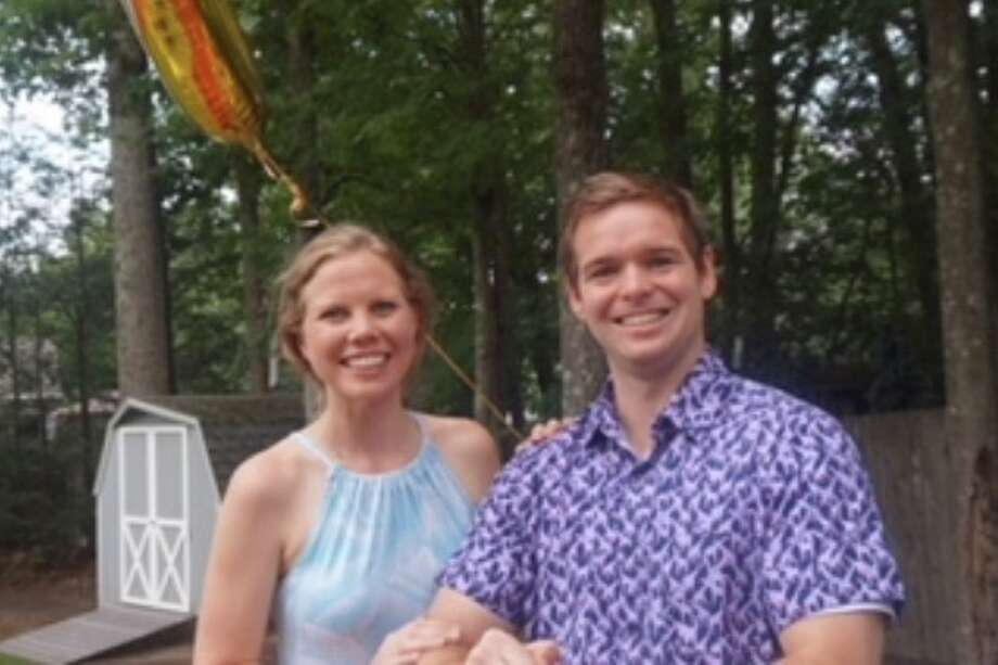 Elizabeth Bjorge and Sean Meegan