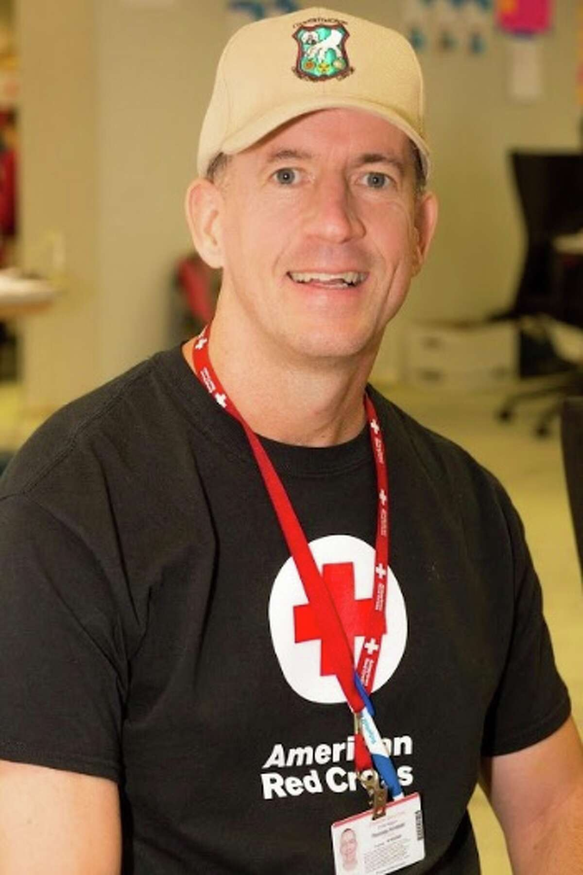 Ridgefield resident Thomas Kimball, who recently returned from assisting Hurricane Florence victims with the American Red Cross in Wilmington, N.C. - Thomas Kimball photo