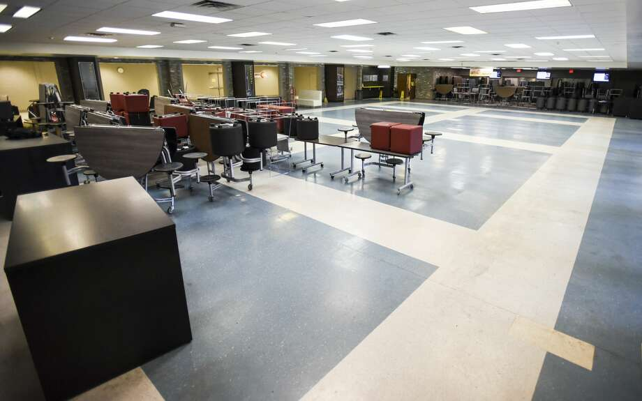 Beaumont United's cafeteria will be undergoing expansions this summer. Photo taken on Thursday, 06/13/19. Ryan Welch/The Enterprise Photo: Ryan Welch/The Enterprise