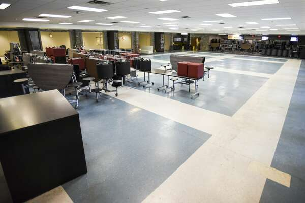 Beaumont United's cafeteria will be undergoing expansions this summer. Photo taken on Thursday, 06/13/19. Ryan Welch/The Enterprise
