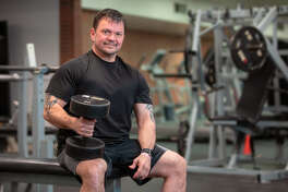 Matt Smith is back to his active lifestyle thanks to two anterior approach hip replacement procedures performed by Orthopedic Surgeon Ben Mayne III, M.D. (Photo provided/MidMichigan Health)