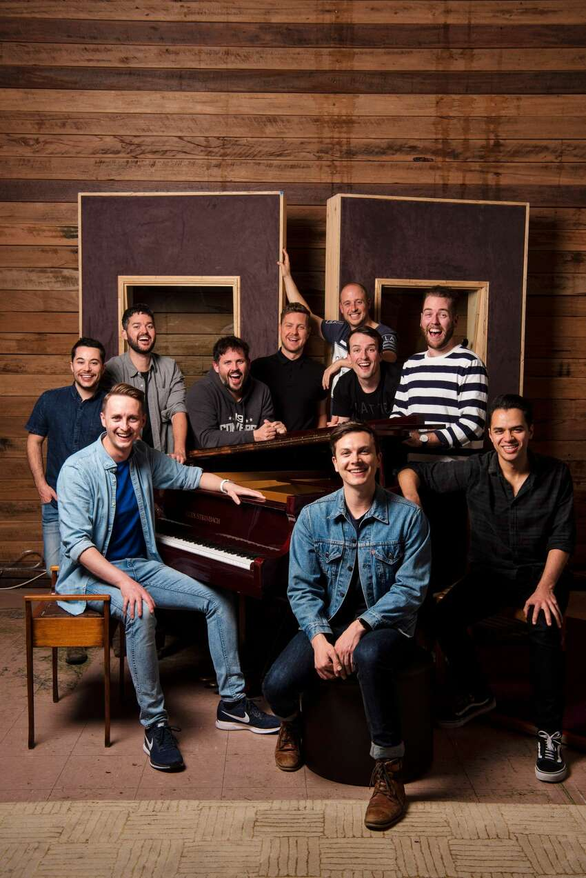 The Ten Tenors play Nov. 30, 2019, at the Troy Savings Bank Music Hall.