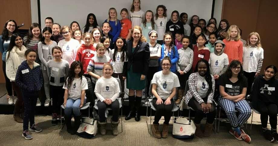 Rep. Elizabeth Esty and members of Ms President US.