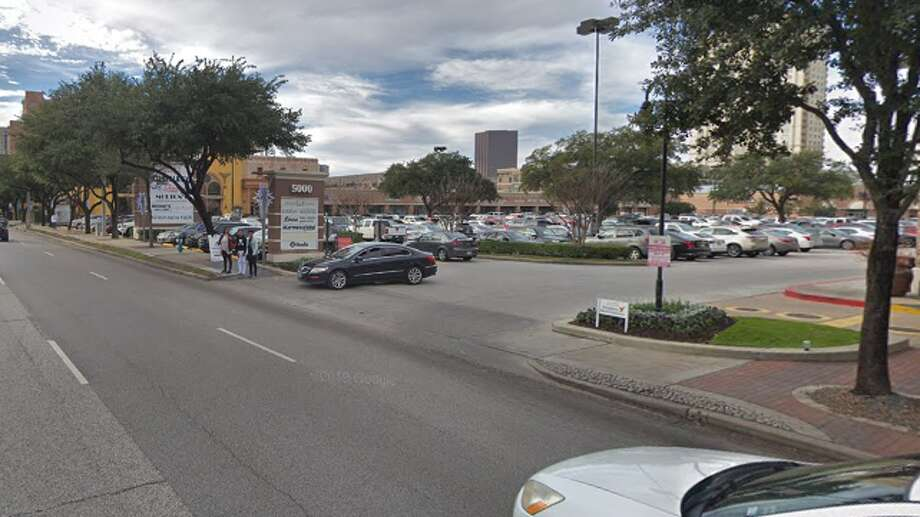 A man trying to cross Westheimer just outside The Galleria was fatally struck on Saturday, June 15, 2019. Photo: Google Maps