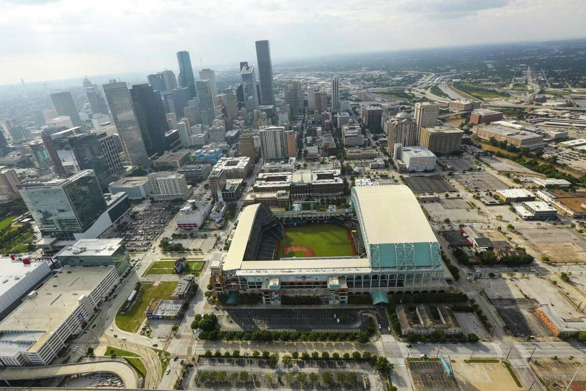 The Astros' Minute Maid Park