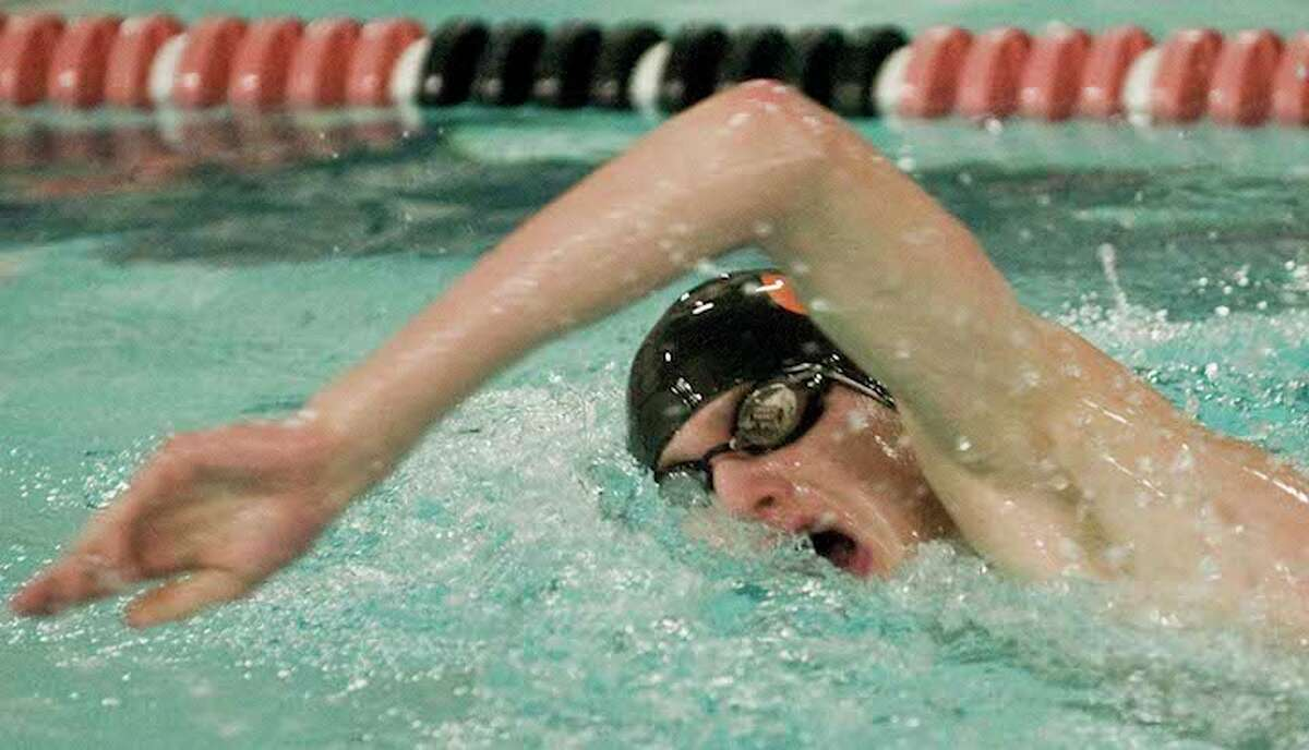 Senior Will Bryant is among the top returnees for the Ridgefield High boys swim team. - Scott Mullin photo