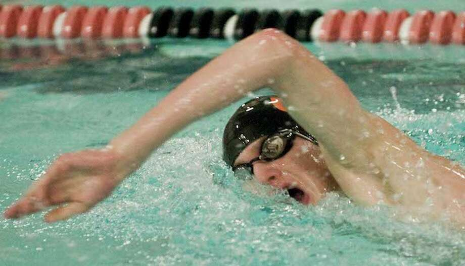 Senior Will Bryant is among the top returnees for the Ridgefield High boys swim team. — Scott Mullin photo / Scott Mullin ownership