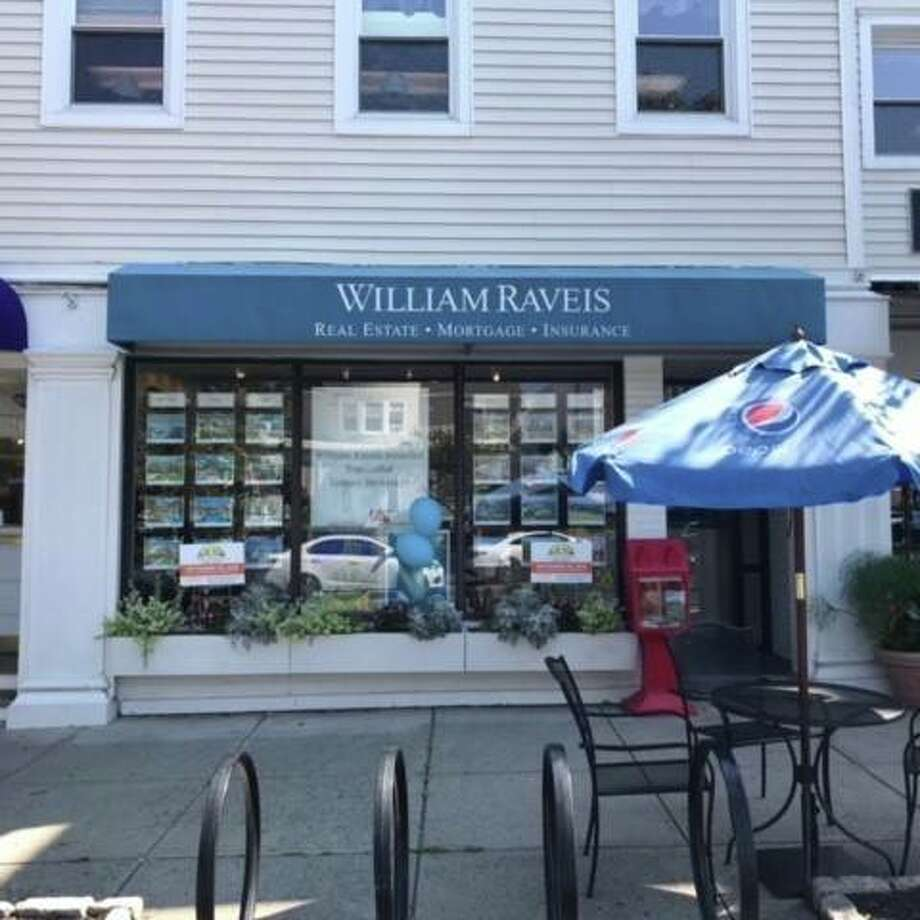William Raveis' Ridgefield office has closed down.