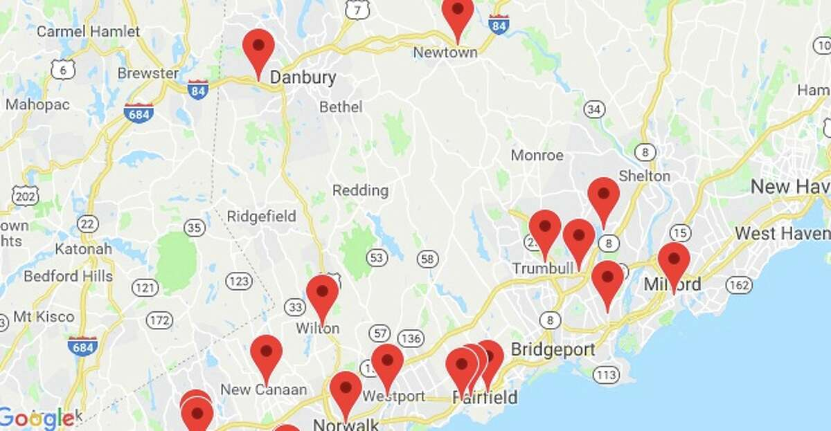 William Raveis has updated its office location map, and it does not include the previous Main Street location in Ridgefield. That office has been closed.