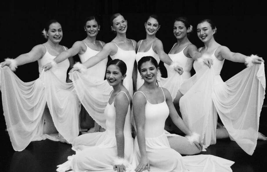 Enchanted Garden dancers who will be performing in their final 'Nuts about the Nutcracker' event are, back row: Elizabeth Lang, Avery Buckanavage, Leah Moroknek, Kenley Kegler, Kayla Morales Thomason, and Mackenzi Macko. In the front row: Sophia Maiolo, and Lauren Maiolo.