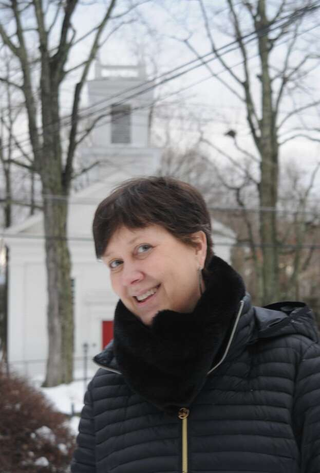 Deborah Rundlett is now leading Ridgebury Congregational Church, which had gone more than four years without a pastor. — Macklin Reid photo